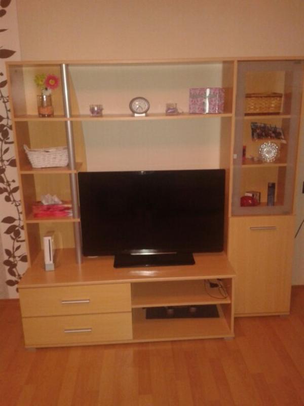 kleine wohnwand in nagold wohnzimmerschr nke anbauw nde kaufen und verkaufen ber private. Black Bedroom Furniture Sets. Home Design Ideas