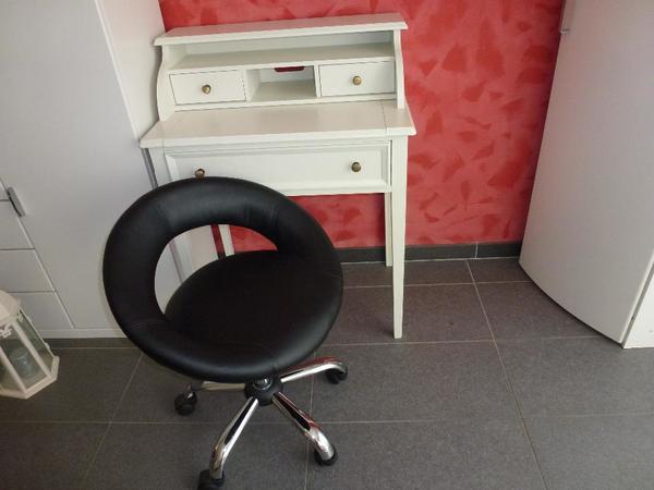 Schreibtisch drehstuhl kaufen gebraucht und g nstig for Kleiner schreibtisch buche
