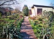 Kleingarten in Französisch