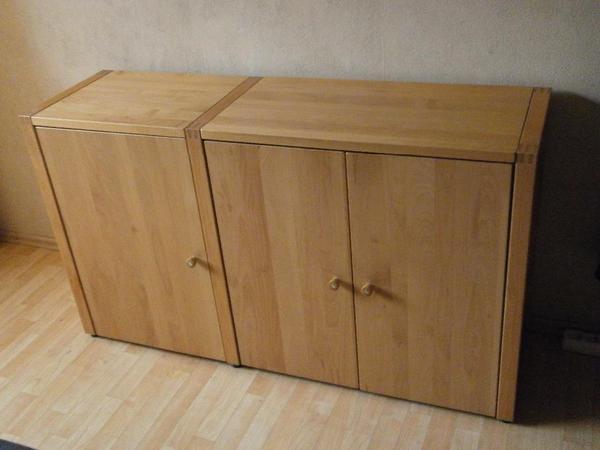 kommode erle massiv von h lsta 39 now no 3 39 hochwertig in. Black Bedroom Furniture Sets. Home Design Ideas