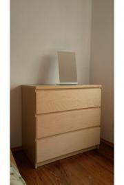 kommode schubladen birkenfurnier haushalt m bel gebraucht und neu kaufen. Black Bedroom Furniture Sets. Home Design Ideas