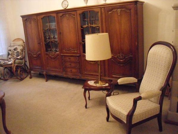 komplettes wohnzimmer chippendale m bel zu verkaufen nach. Black Bedroom Furniture Sets. Home Design Ideas