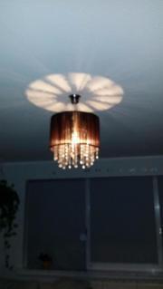 Kronleuchter Lampenschirm aus