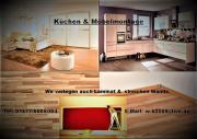 Küchenmontage und Laminat