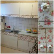 Küchenzeile Einbauküche Landhausstil