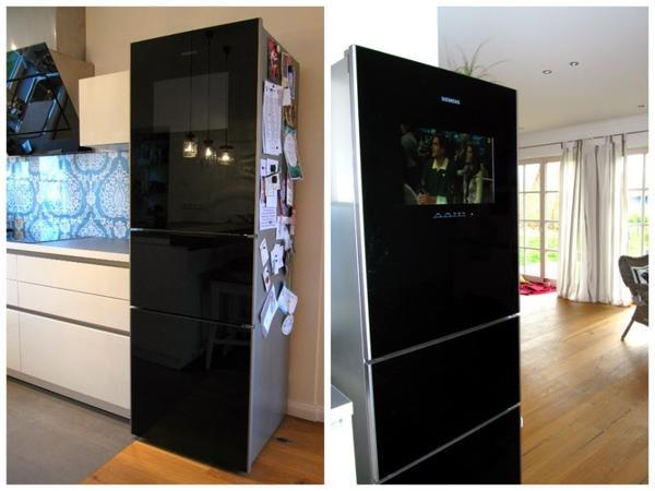 k hlschrank mit fernseher siemens in jagsthausen k hl und gefrierschr nke kaufen und. Black Bedroom Furniture Sets. Home Design Ideas