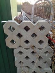 Kunststoff Rasengittersteine