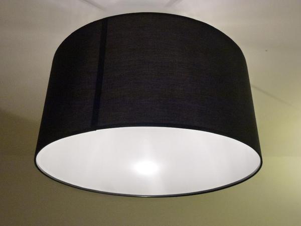lampenschirm rismon schwarz in gerlingen kaufen und verkaufen ber private kleinanzeigen. Black Bedroom Furniture Sets. Home Design Ideas