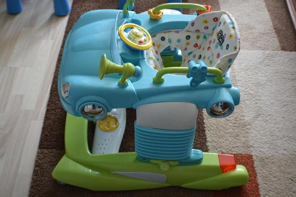 lauflernhilfe 2in1 walker stripe f r kleine auto fan in bruchsal baby und kinderartikel. Black Bedroom Furniture Sets. Home Design Ideas