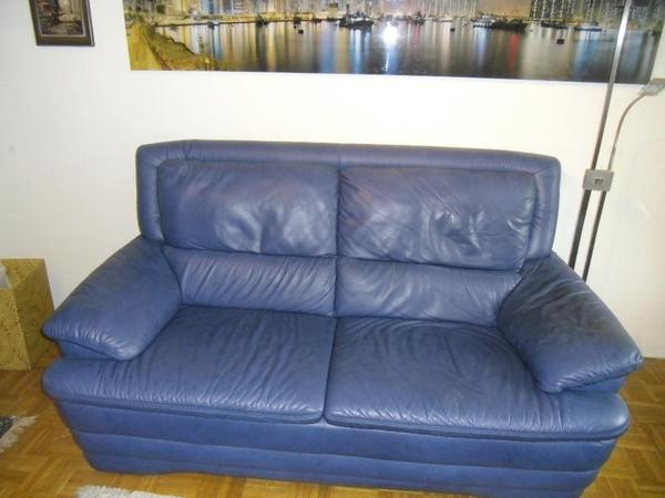 leder 2 1 2 sitzer und ruhe sessel verstellb mit hocker in berlin polster sessel couch. Black Bedroom Furniture Sets. Home Design Ideas