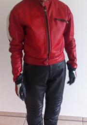 Leder Motorradbekleidung für