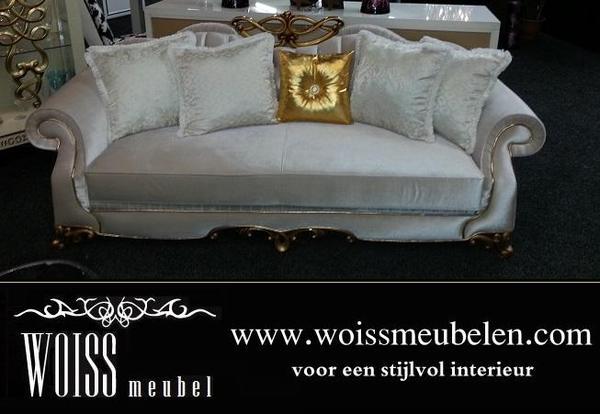 Leder sofa Stoff Couch Gute Qualität zum günstigen Preis WOISS