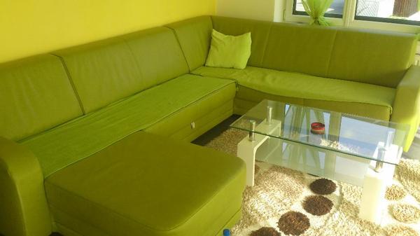 ledercouch ausziehbar mit transport dabei in vandans polster sessel couch kaufen und. Black Bedroom Furniture Sets. Home Design Ideas