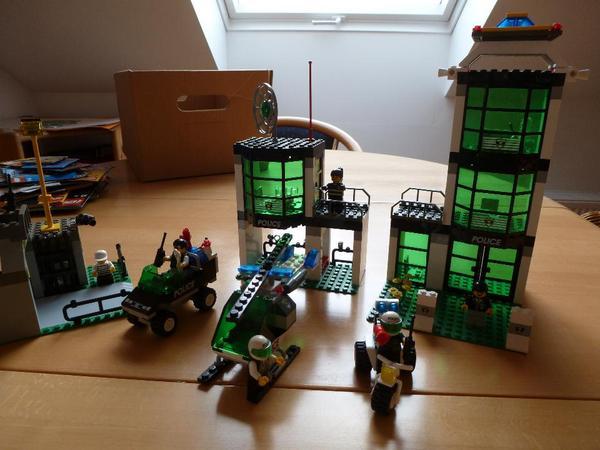 lego 6636 polizeistation in plankstadt spielzeug lego playmobil kaufen und verkaufen ber. Black Bedroom Furniture Sets. Home Design Ideas