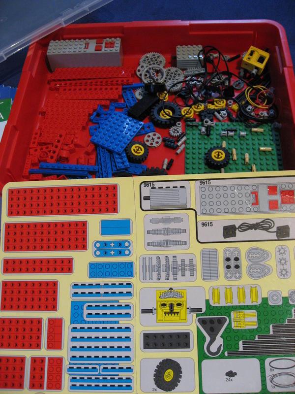 Lego 9630 9615 Konstruktionsset Und Motor In Moosburg