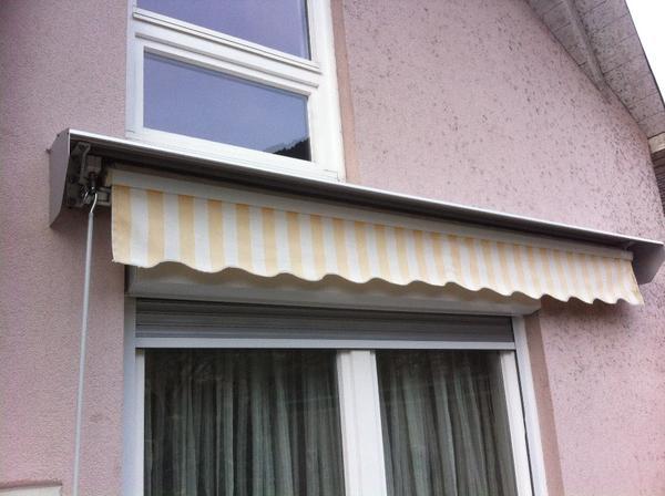 Markise 3m X 2m Gelb Wei In Hohenems Fenster Roll Den