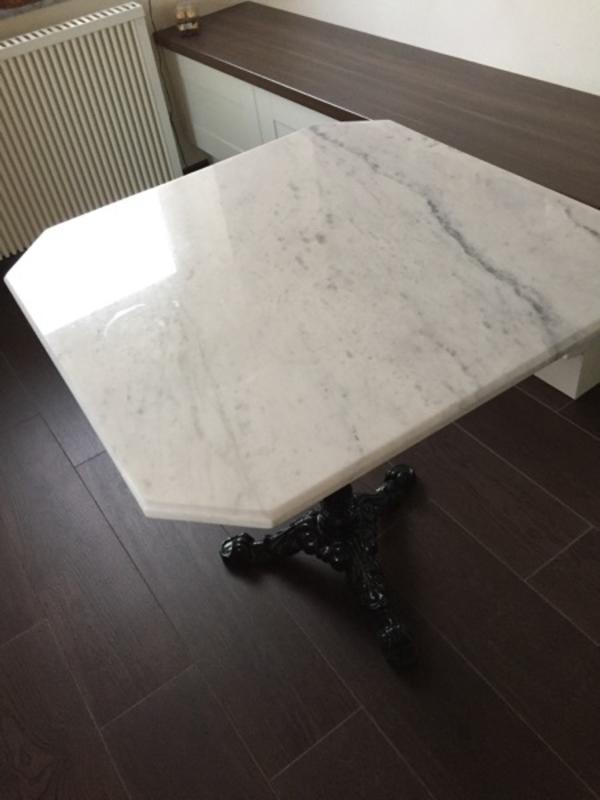 bistrotisch marmor gebraucht kaufen 2 st bis 70 g nstiger. Black Bedroom Furniture Sets. Home Design Ideas