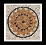 Marmor Mosaik Rosone