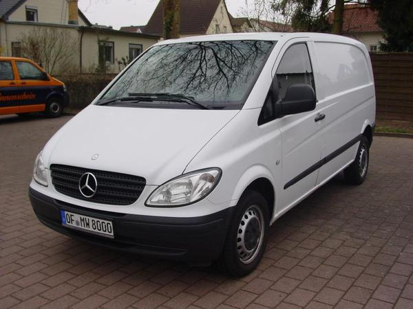 mercedes benz transporter vito 111 cdi kastenwagen mit lkw. Black Bedroom Furniture Sets. Home Design Ideas