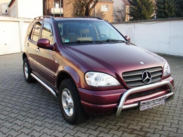 the car mercedes ml 320 w163 mit lpg gas of 3990. Black Bedroom Furniture Sets. Home Design Ideas