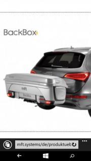 mft Auto BackBox gebraucht kaufen  Schlins