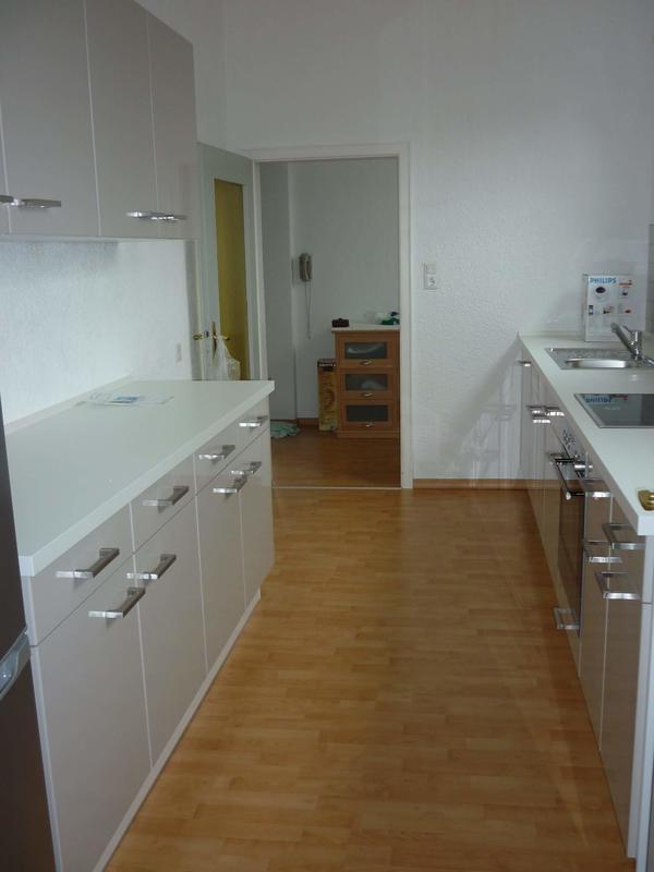 moderne hochglanz reddy k che mit herd backofen und. Black Bedroom Furniture Sets. Home Design Ideas