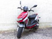 Mopedroller CPI Hussar