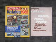 Motorradkatalog von 1982