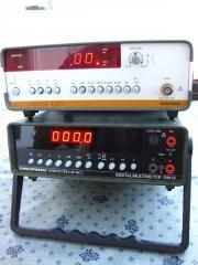 Multimeter und Frequenzzähler