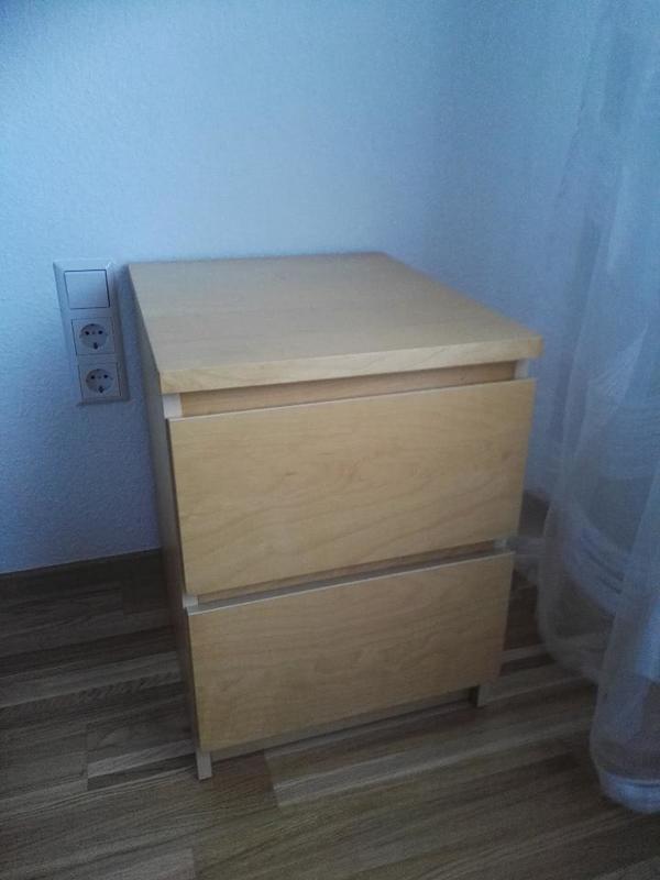 malm nachttisch kaufen gebraucht und g nstig. Black Bedroom Furniture Sets. Home Design Ideas