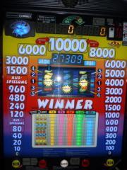 NEW WINNER geldautomat