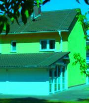 Niedrigenergiehaus mit Wintergarten