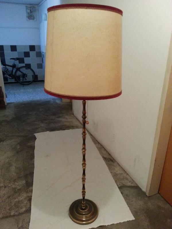 Nostalgie messingstehlampe in stuttgart lampen kaufen for Lampen nostalgie