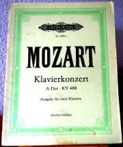 Noten: Mozart: Klavierkonzert
