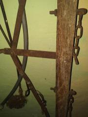 Ochsengespann Karren Holzgespann -