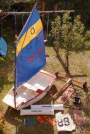 Optimist Segelboot und