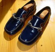 Orig. Prada neuw Lackleder Herren Schuhe Designer Slipper Loafer Grösse 7 bwz. 7 1/2 41 - 42 Verkaufe orig. Prada Schuhe, made in Italy. Die Grösse ist mit 7 (41) angegeben, wie meistens bei Prada fällt das eine halbe Nummer grösser aus, ... 90,- D-86899L - Orig. Prada neuw Lackleder Herren Schuhe Designer Slipper Loafer Grösse 7 bwz. 7 1/2 41 - 42 Verkaufe orig. Prada Schuhe, made in Italy. Die Grösse ist mit 7 (41) angegeben, wie meistens bei Prada fällt das eine halbe Nummer grösser aus