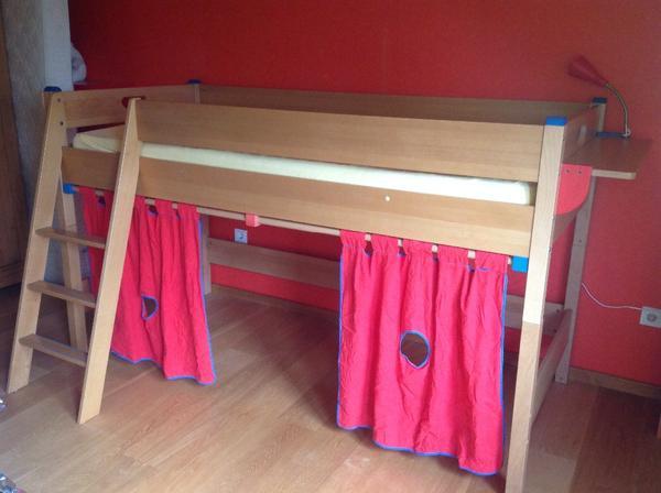 Paidi etagenbett mit zubeh r aus buche in n rnberg for Jugendzimmer mit etagenbett