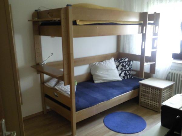 paidi varietta etagenbett und kleiderschrank 4 t rig. Black Bedroom Furniture Sets. Home Design Ideas