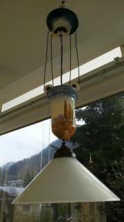 Pendelzug Zuglampe Porzellan