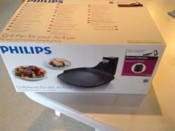 philips grillpfanne f r den airfryer neu in bietigheim bissingen k chenherde grill. Black Bedroom Furniture Sets. Home Design Ideas