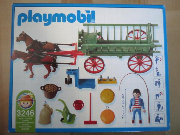 Playmobil 3246 gebraucht pferde kutsche in hainburg - Playmobil kutsche ...