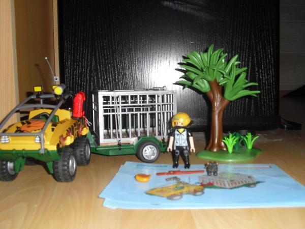 spielzeug lego playmobil playmobil amphibienfahrzeug mit anh nger usw gebraucht bilder anschauen. Black Bedroom Furniture Sets. Home Design Ideas