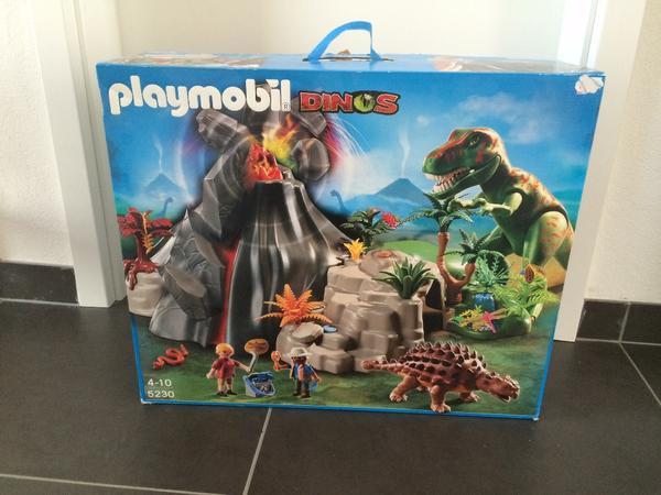 playmobil dino landschaft mit viel zubeh r in dannstadt schauernheim spielzeug lego. Black Bedroom Furniture Sets. Home Design Ideas