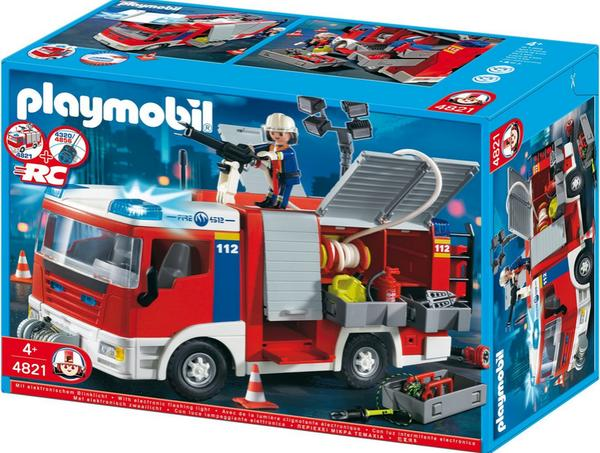 playmobil feuerwehr 4819 4820 neuwertig in bickenbach. Black Bedroom Furniture Sets. Home Design Ideas