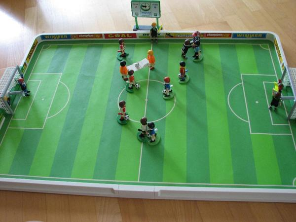 playmobil fu ballstadion 4700 in ketsch spielzeug lego. Black Bedroom Furniture Sets. Home Design Ideas