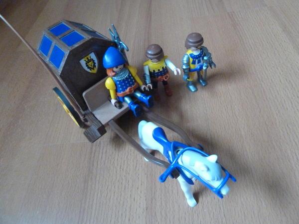 Playmobil kutsche l wenritter in karlstein spielzeug - Playmobil kutsche ...