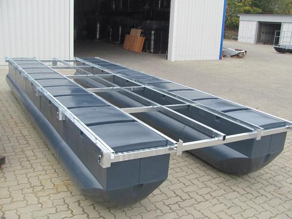 ponton boot hausboot floss partyboot arbeitsboot insel in teterow motorboote kaufen und. Black Bedroom Furniture Sets. Home Design Ideas