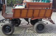 Ponykutsche mit Traktorzug