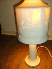 Porzellanlampe